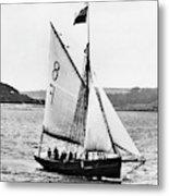 Sailing Ship Cutter Metal Print
