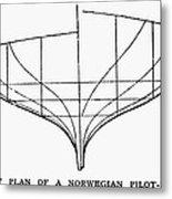 Sailing Ships: Pilot Boat Metal Print