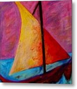 Sailing The Seas Metal Print