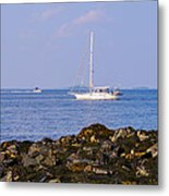 Sailing - Wide Metal Print