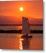 Sailors Solitude 1 Metal Print