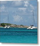Sails Down Metal Print