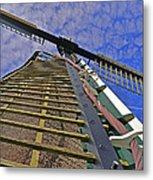 Sails Of A Windmill Metal Print