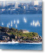 Sails Out To Play Metal Print