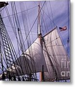 Sails Ready Metal Print