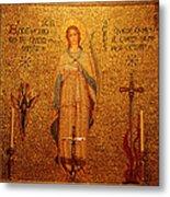 Saint Agnes Metal Print
