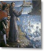Saint Anthony Of Padua Preaching Metal Print
