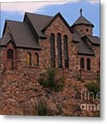 Saint Catherine Of Siena Chapel Metal Print