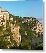 Saint Cirq Panoramic Metal Print