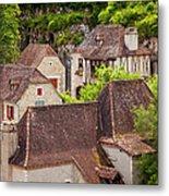 Saint Cirq Rooftops Metal Print