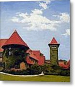 Saint Clements Castle Portland Connecticut Metal Print