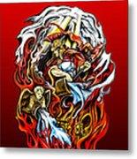 Saint Florian Metal Print by Michael Spano