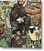 Saint Francis Metal Print