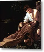 Saint Francis Of Assisi In Ecstasy Metal Print