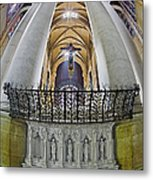 Saint John The Divine Rear Altar View Metal Print