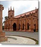 Saint John's Cathedral Anglican Church Peshawar Pakistan Metal Print