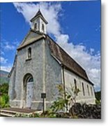 Saint Joseph Church Maui Hawaii Metal Print