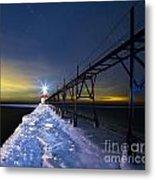Saint Joseph Pier In Evening Metal Print