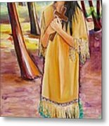 Saint Kateri Tekakwitha Version One Metal Print