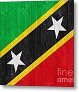 Saint Kitts And Nevis Flag Metal Print