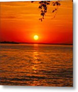 Saint Lawrence River Sunset IIi Metal Print