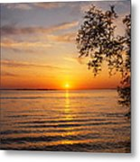 Saint Lawrence River Sunset V Metal Print