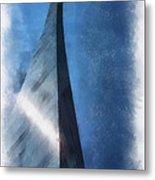 Saint Louis Arch Photo Art 01 Metal Print