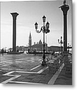 Saint Mark Square, Venice, Italy Metal Print