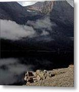 Saint Mary Lake East Glacier Metal Print
