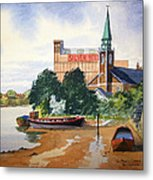 Saint Mary's Church Battersea London Metal Print