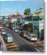 Saint Mary's Street Metal Print by Luis Alvarenga