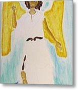 Saint Michael The Archangel Miracle Painting Metal Print