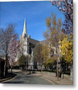 Saint Patricks Cathedral Founded Metal Print