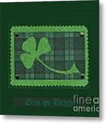 Saint Patricks Day Collage Number 28 Metal Print