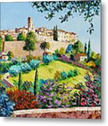 Saint Paul De Vence Metal Print