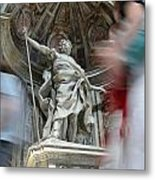 Saint Peters Traffic Metal Print