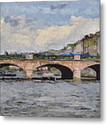 Saint Petersburg Bridges 5 Metal Print