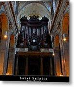 Saint Sulpice Metal Print