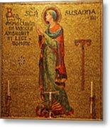 Saint Susanna Altar Metal Print