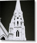 The Surreal Spire Metal Print