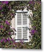 Saint Tropez Window Metal Print