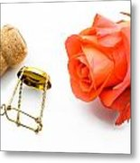 Saint Valentine Rose Metal Print