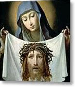 Saint Veronica Metal Print by Guido Reni