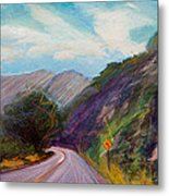 Saint Vrain Canyon Metal Print
