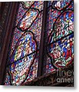 Sainte-chapelle Window Metal Print