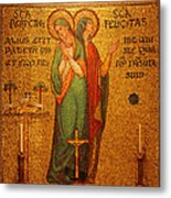 Saints Perpetua And Felicitas Altar Metal Print