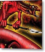 Salamander Metal Print