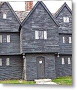 Salem Witch House Metal Print