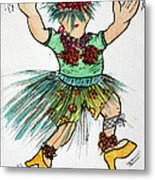 Sales Fairy Dancer 2 Metal Print