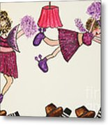 Sales Fairy Dancer 5 Metal Print